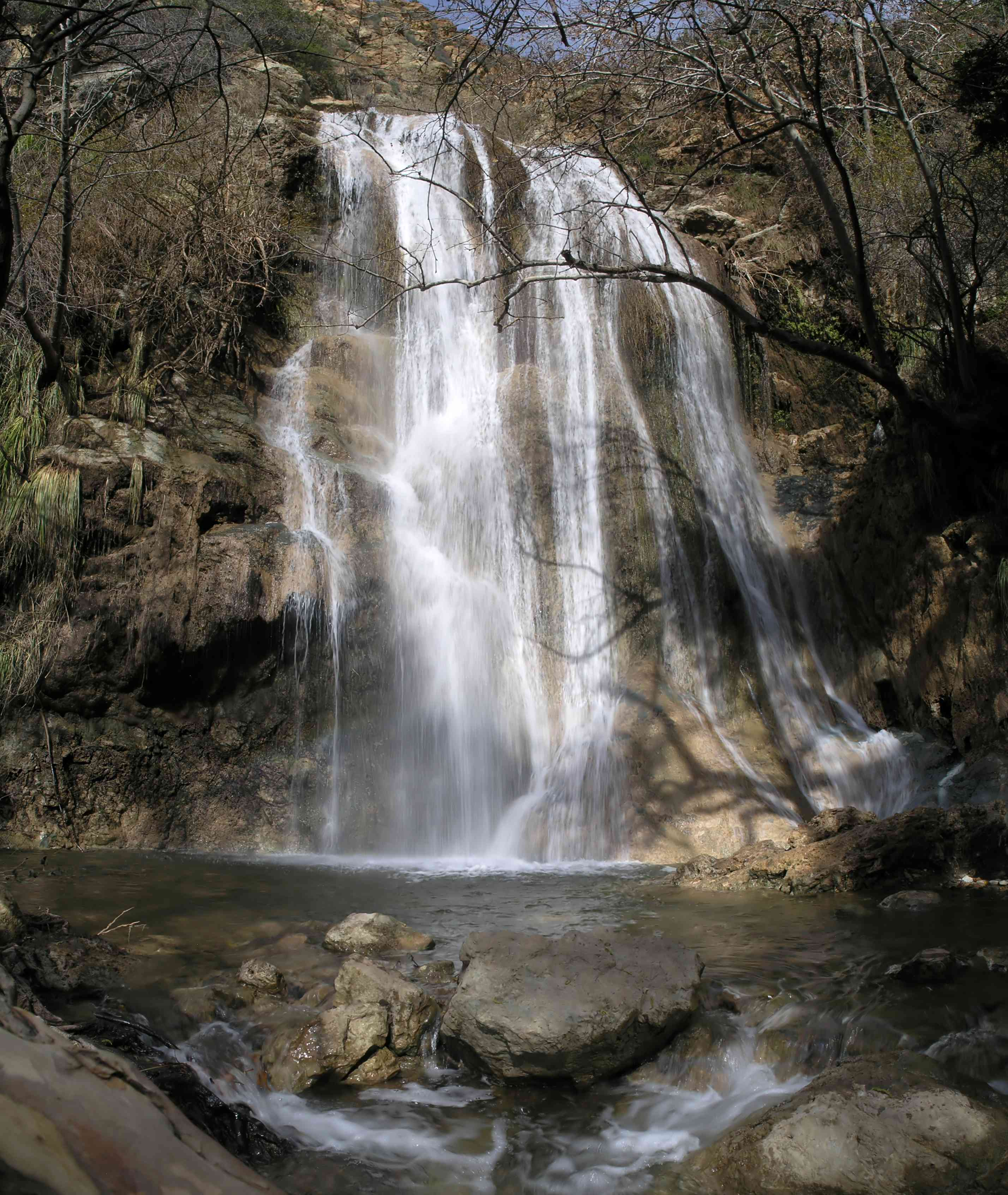 Escondido Falls Malibu California