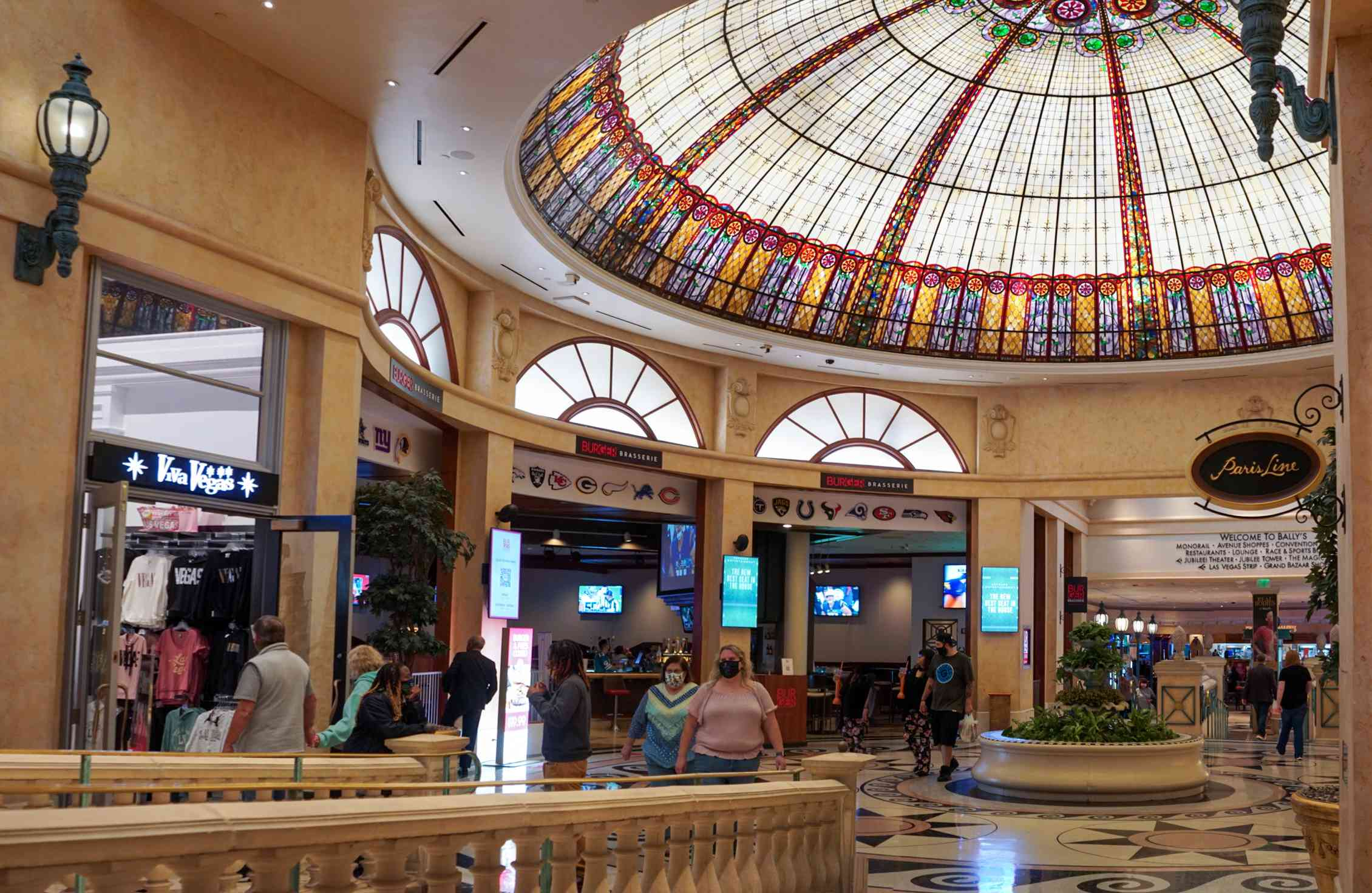 Shopping in Paris Las Vegas