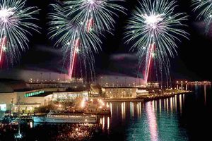 Fireworks in Annapolis, Maryland