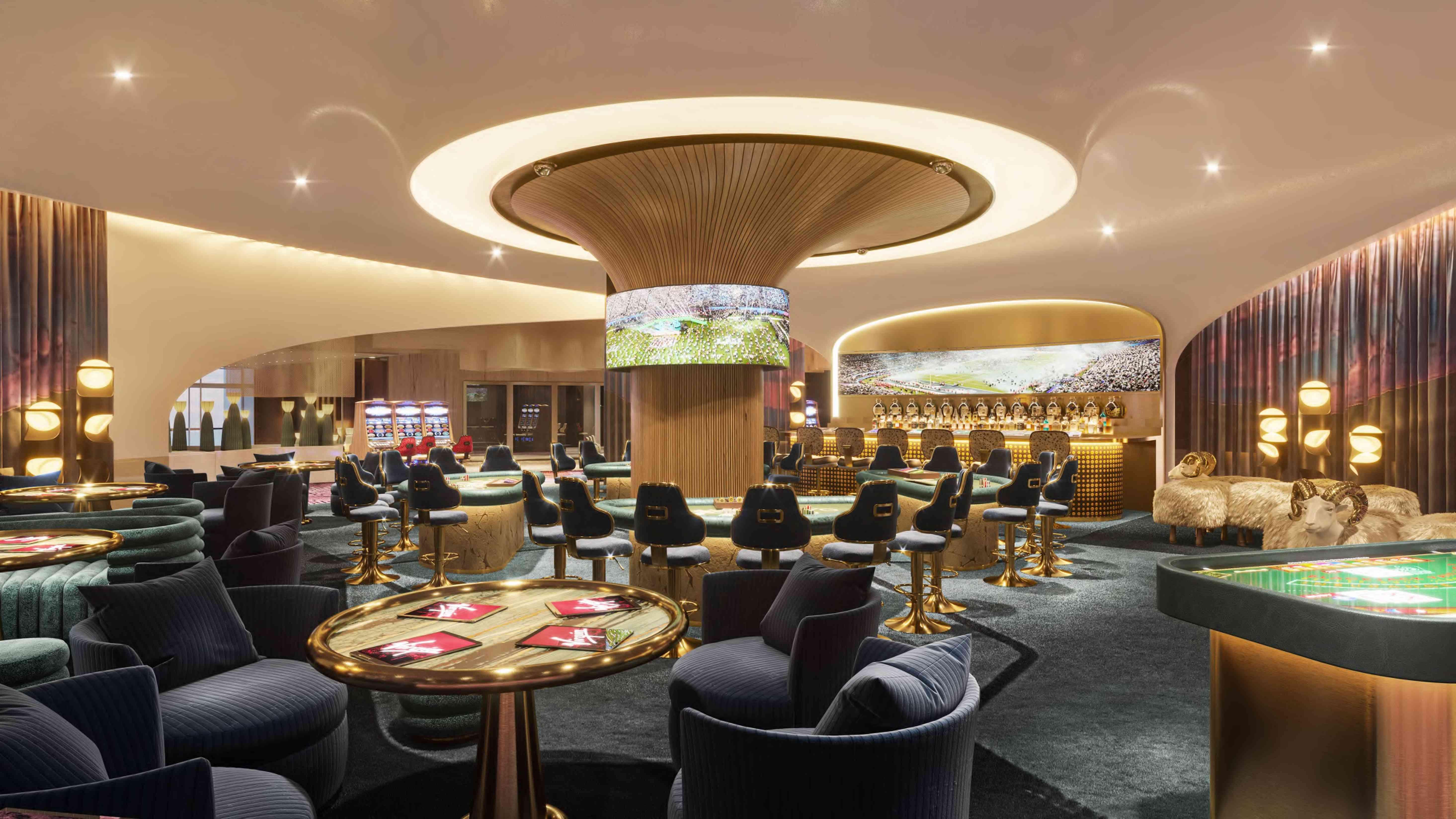 Casino bar at Virgin Hotels Las Vegas