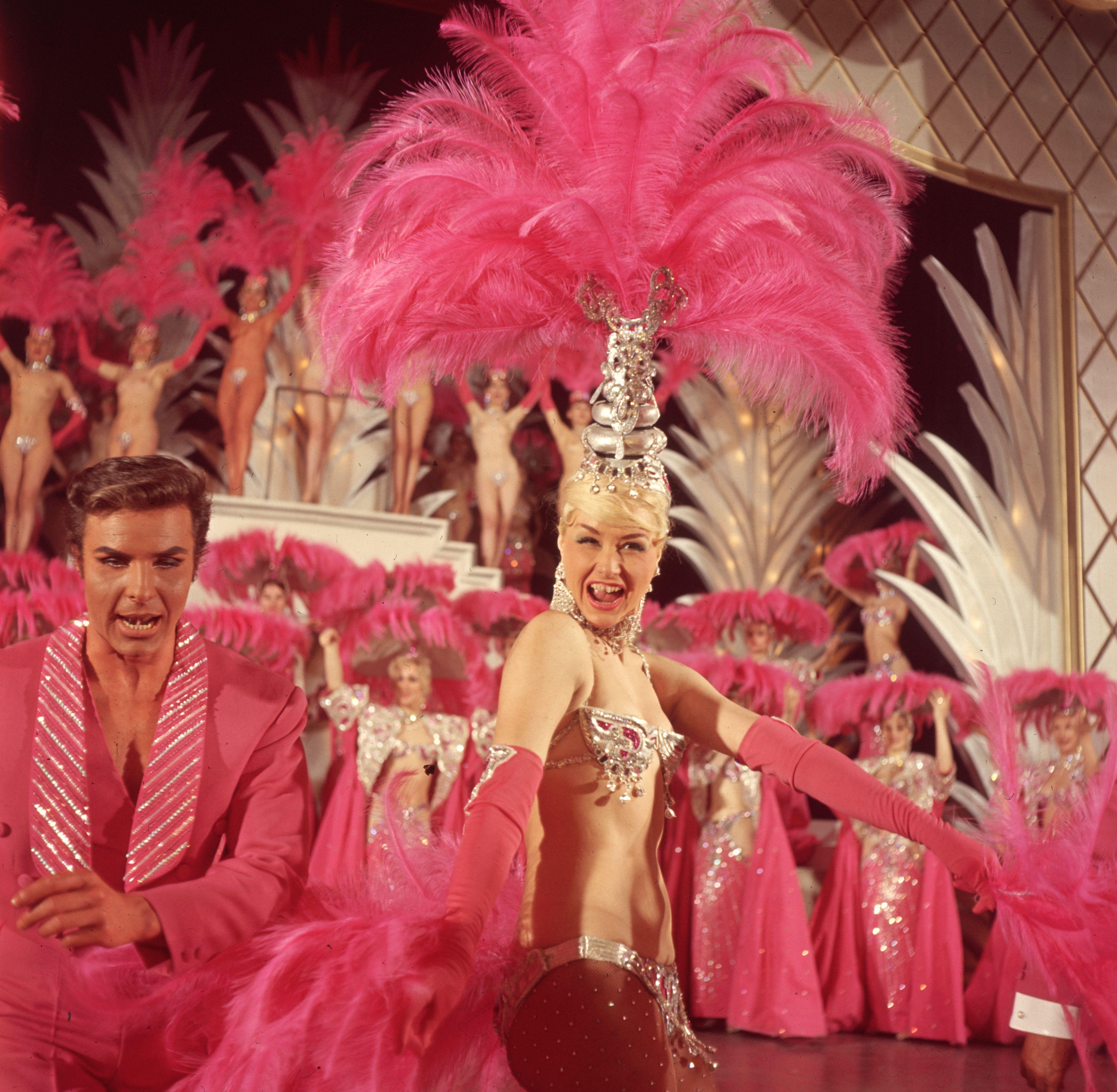 A cabaret show at the Folies Bergere