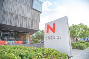 Entrance to the Nevada Museum of Art