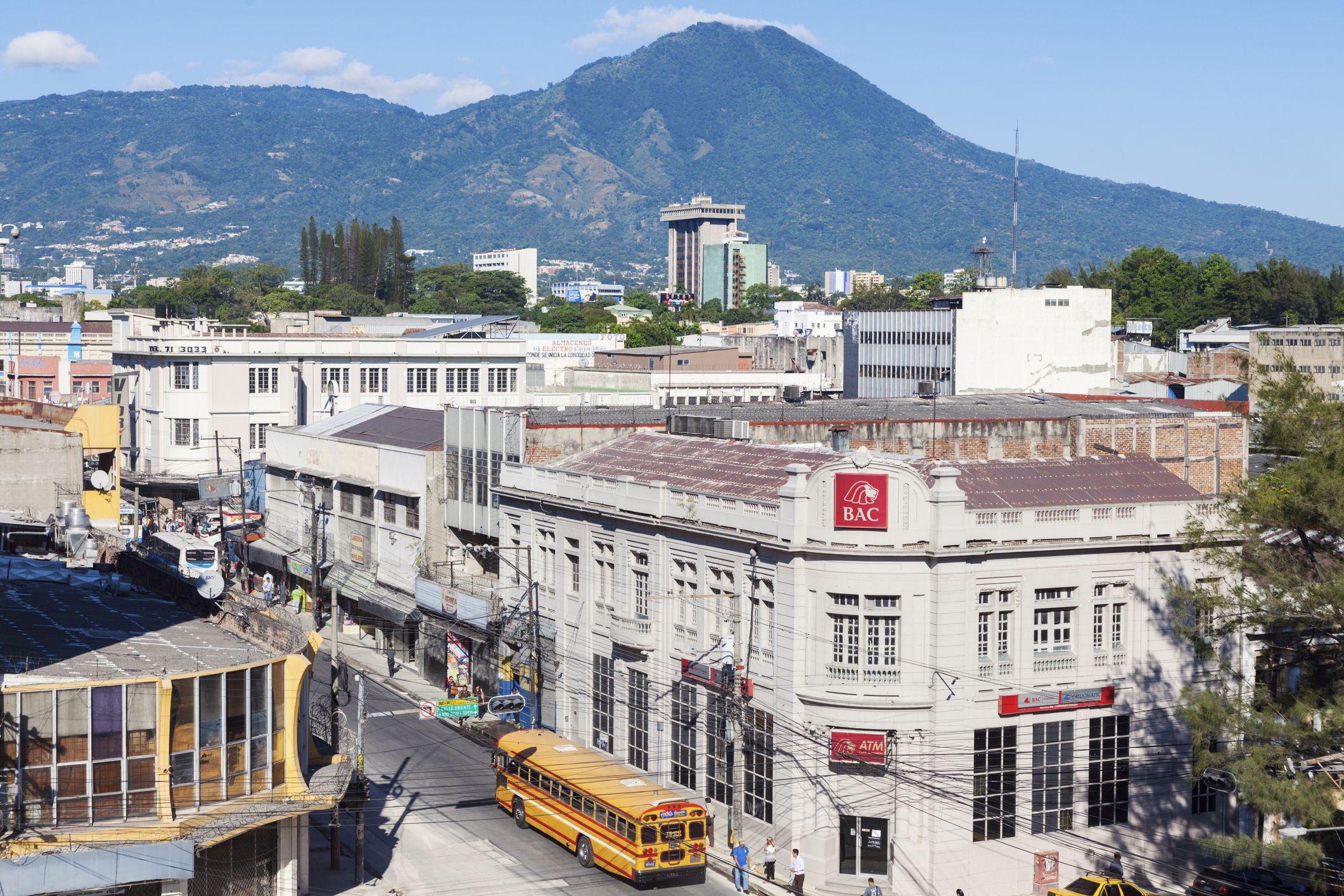 San Salvador's Old Town