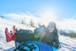 Snow Tubing with Kids
