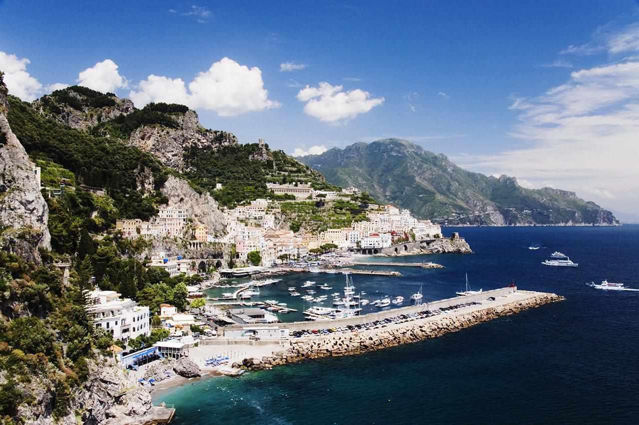Italia, Campania, Amalfi