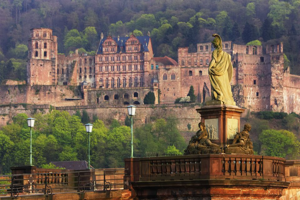 Karl Theodor Bridge and Heidelberg Castle