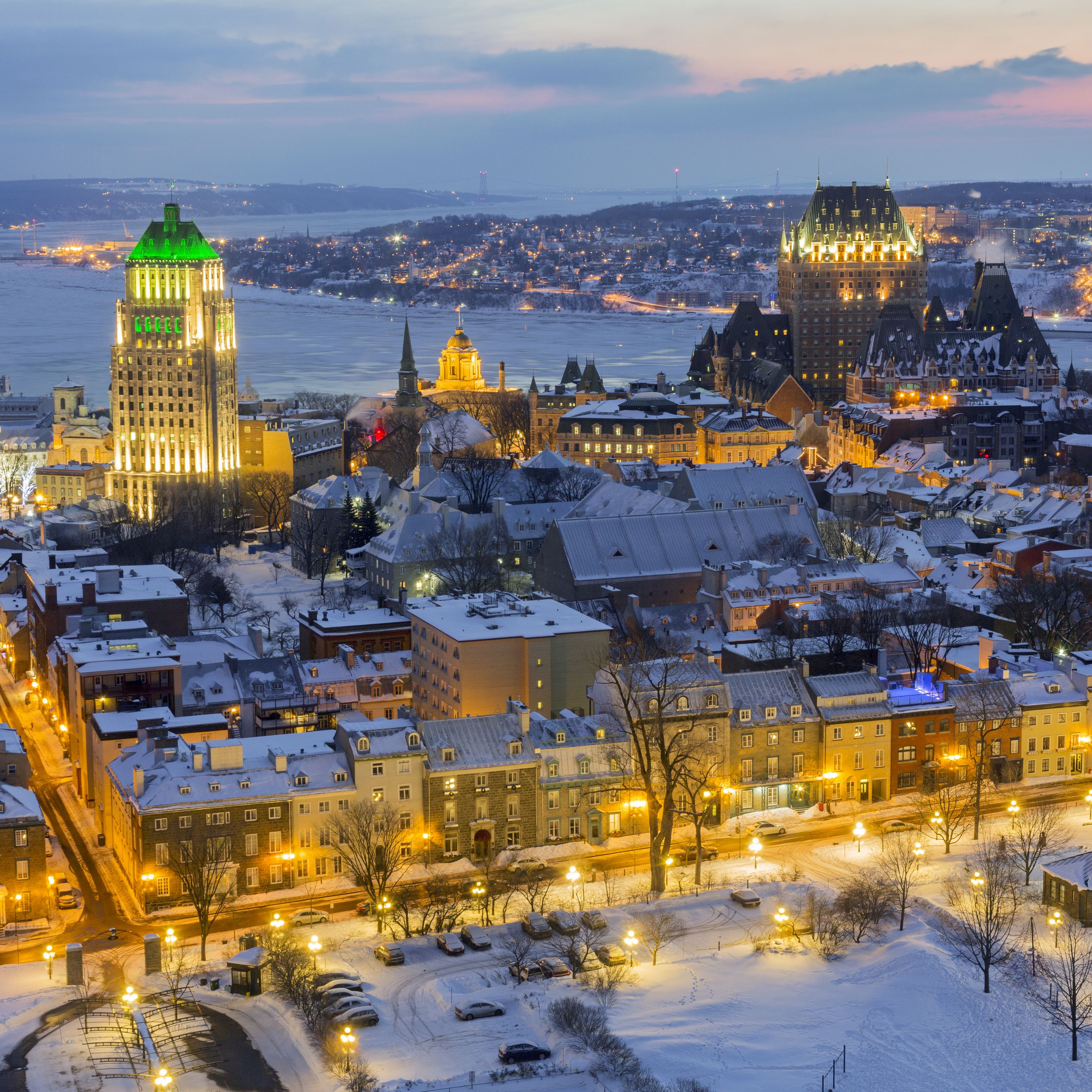 Old Quebec City Christmas Market.Visiting Quebec City In Winter Weather Events And Tips