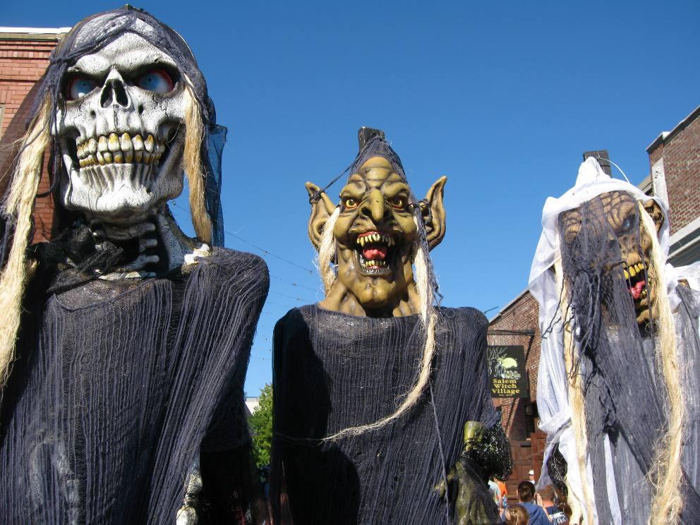 Salem, Massachusetts, on Halloween