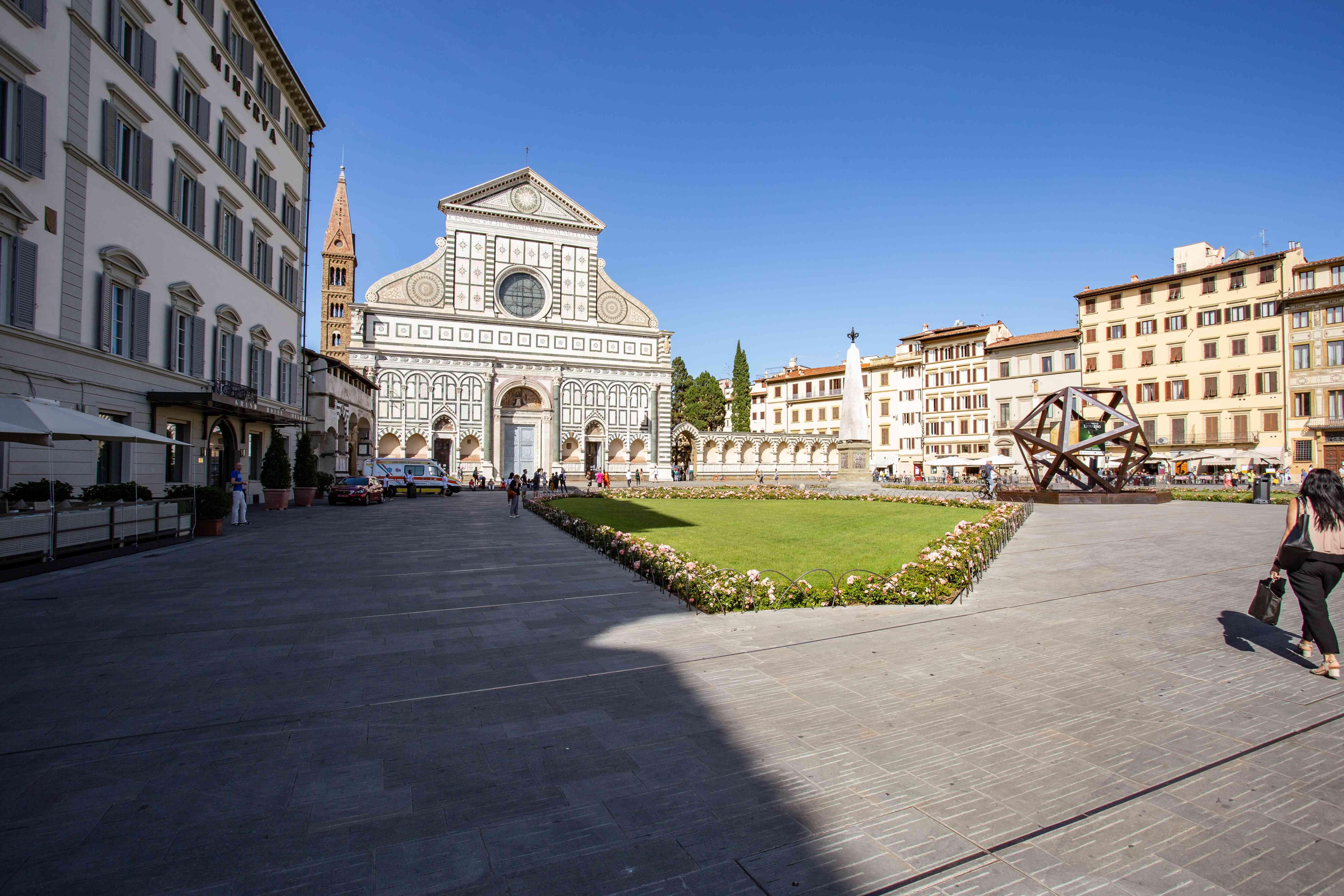 Santa Maria Novella Church in Florence, Italy