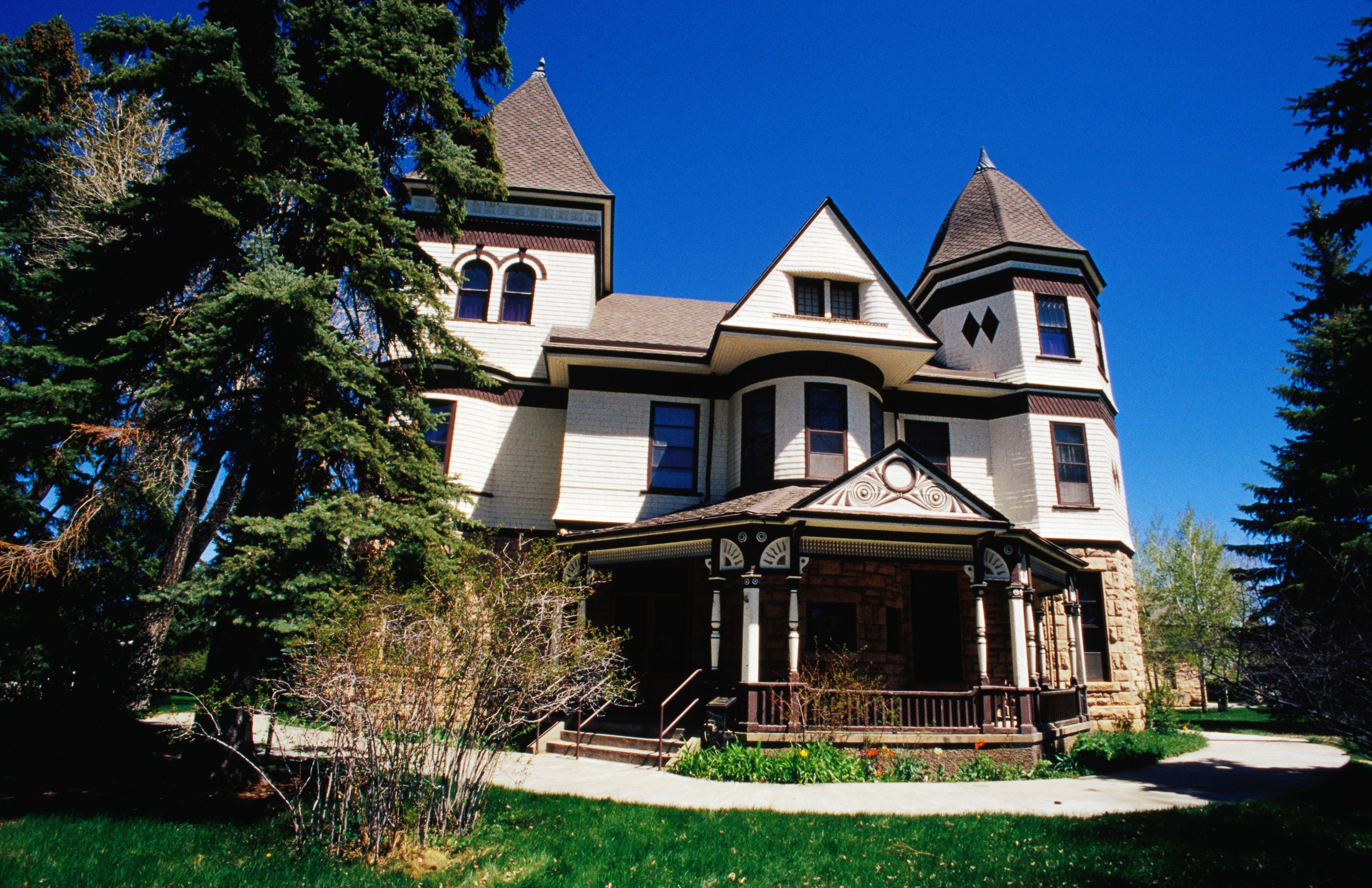 Exterior of Ivinson Mansion (Laramie Plains Museum)