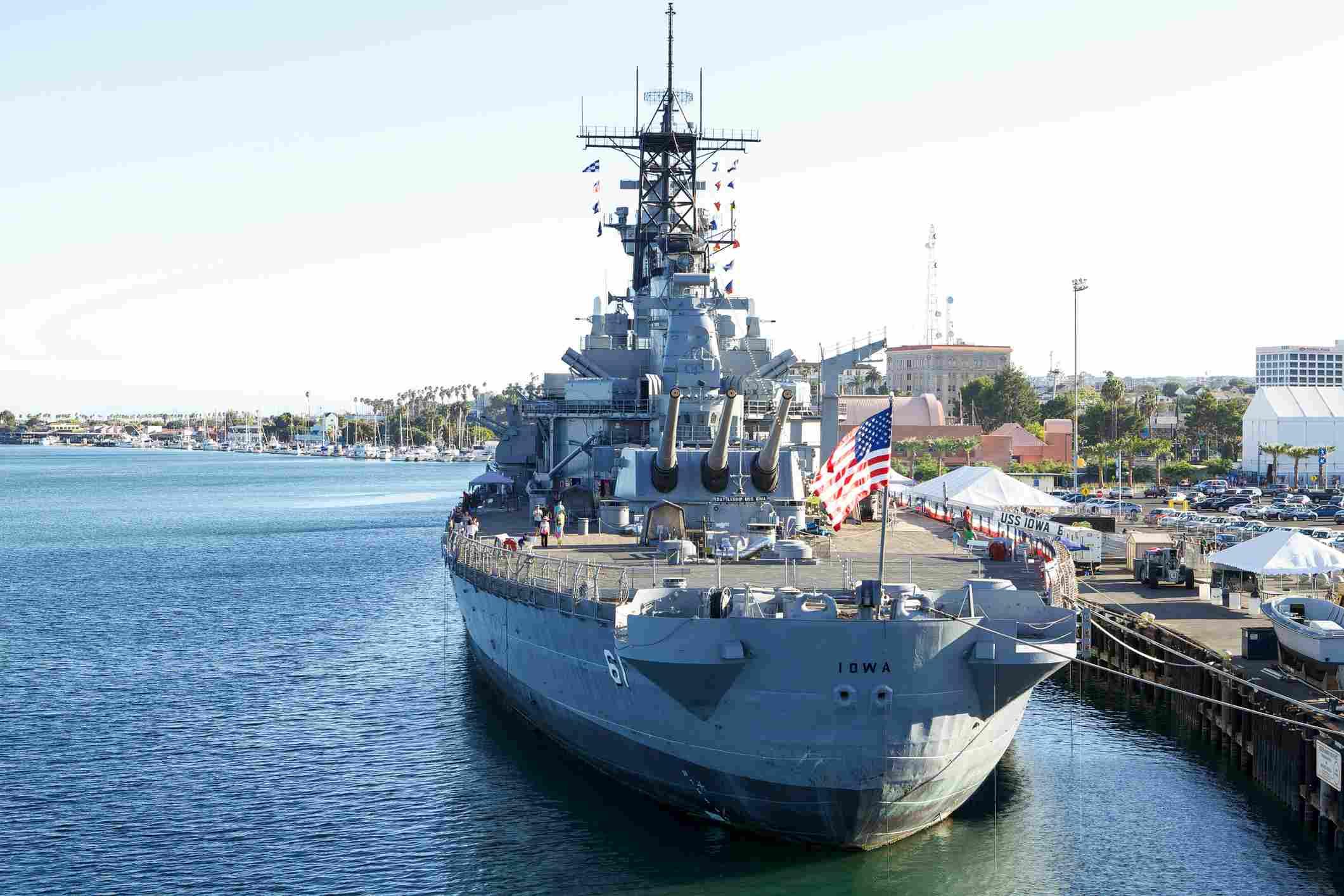 USS Iowa Floating Museum