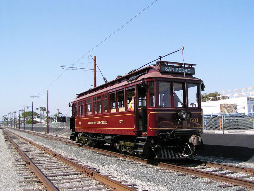 San Pedro Red Cars