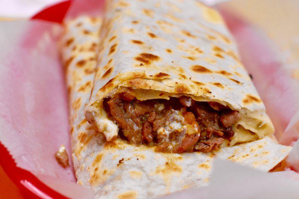Mexican food at El Farolito Mexican Restaurant