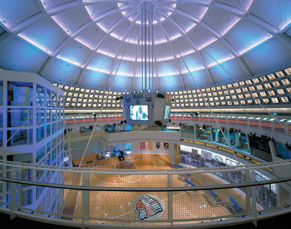 Naismith Memorial Basketball Hall of Fame in Springfield