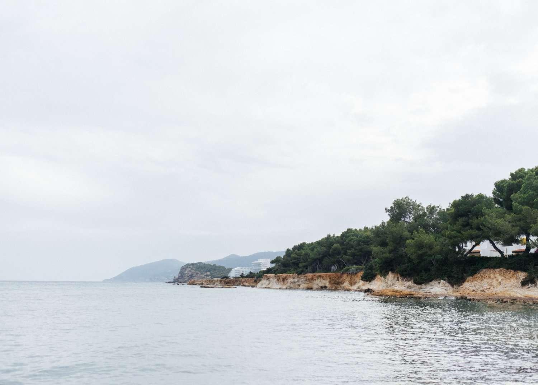 Niu Blau beach, Ibiza