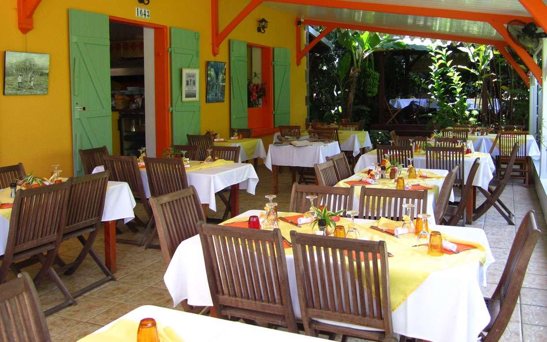 Dining room of restaurant 1643