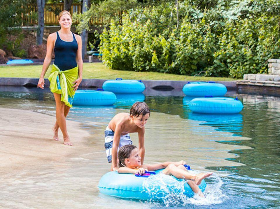 Pool At Hyatt Regency Hill Country Resort