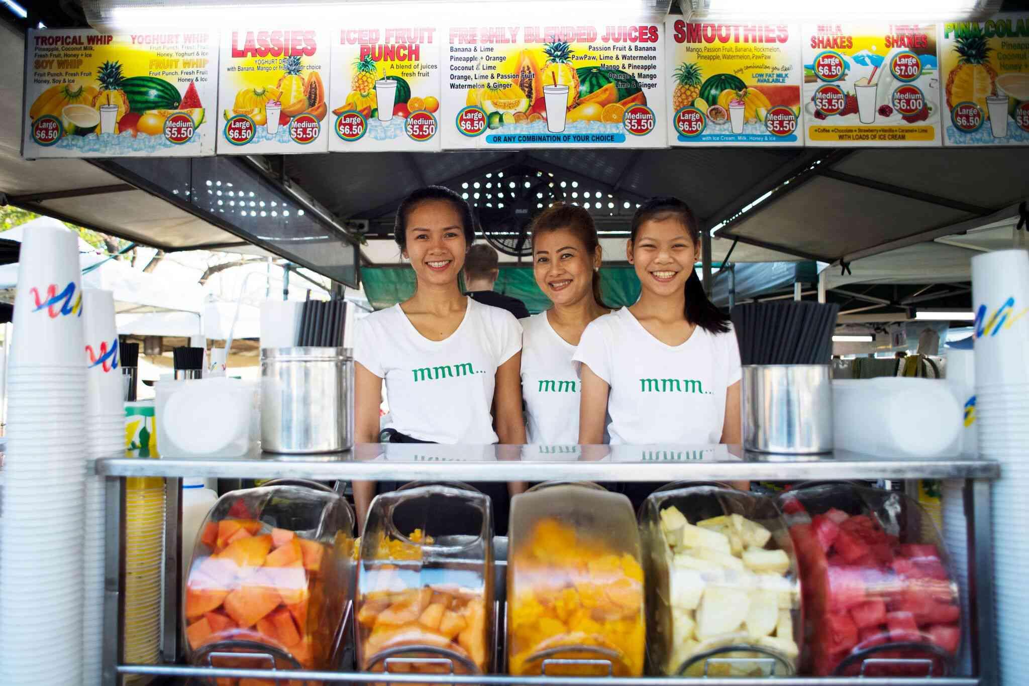 Asociaciones de comerciantes de Parap Village