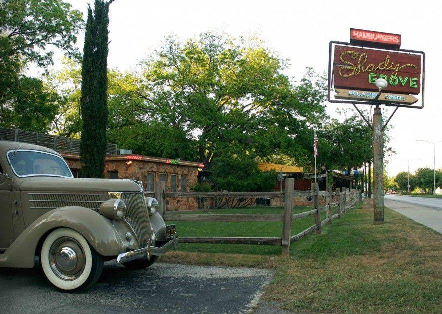 Restaurante Shady Grove en Austin, Texas