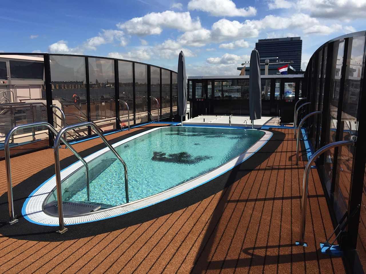 river cruise swimming pool