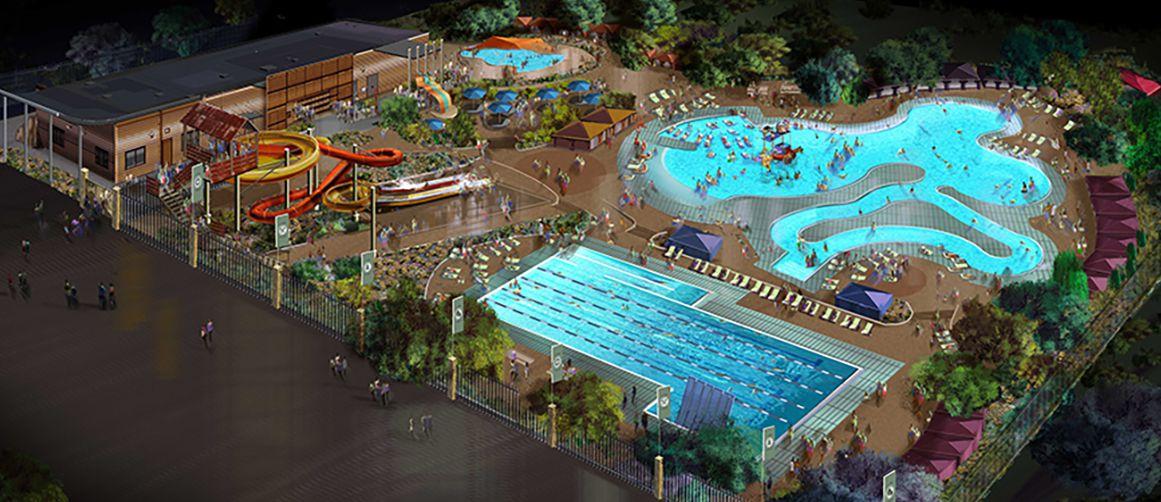 Camp Cohen El Paso water park