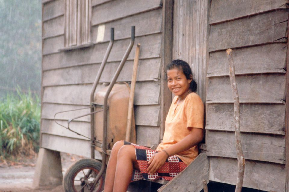 woman in Suriname