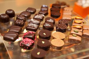 Chocolates from Yves Turiés shop in Bordeaux