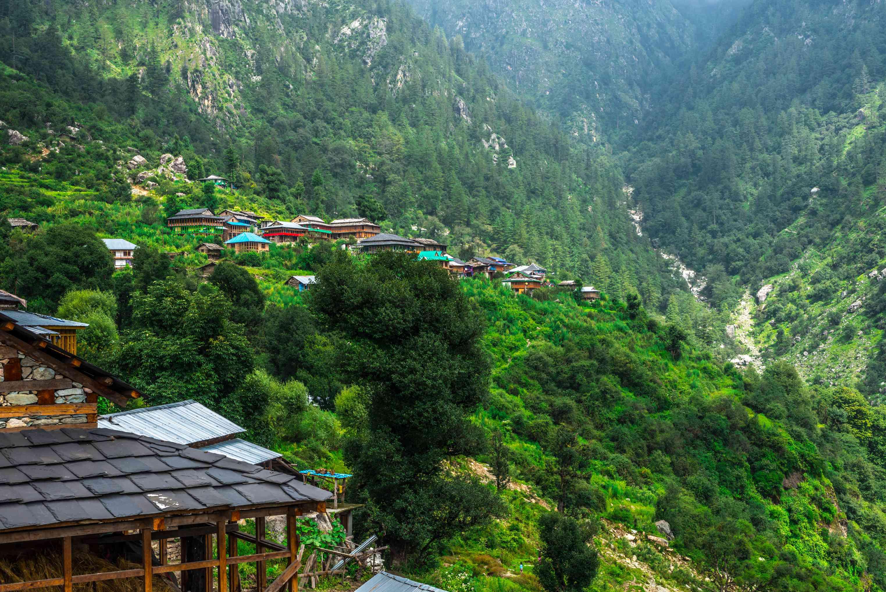 Jibhi, Himachal Pradesh.