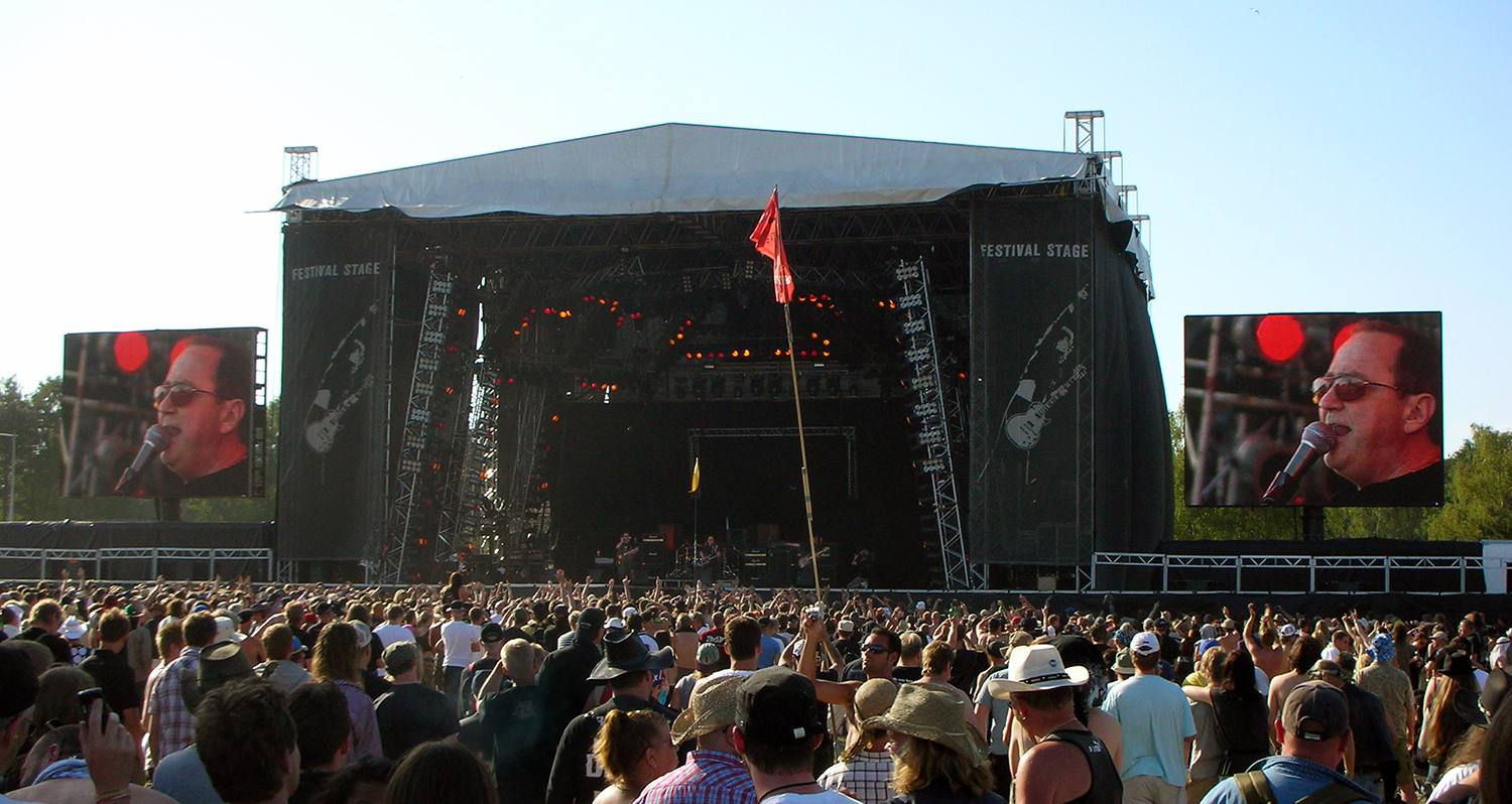 Blue Öyster Cult, American rock band, at the Sweden Rock Festival in 2008