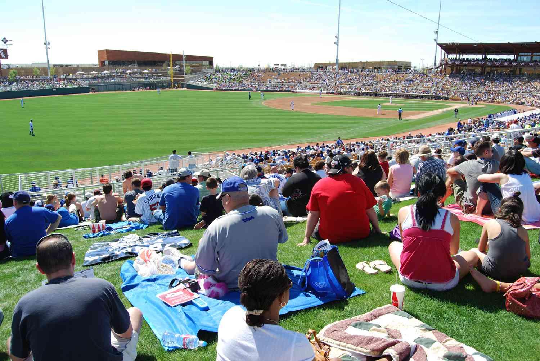 Spring Training Cactus League Stadiums In Arizona