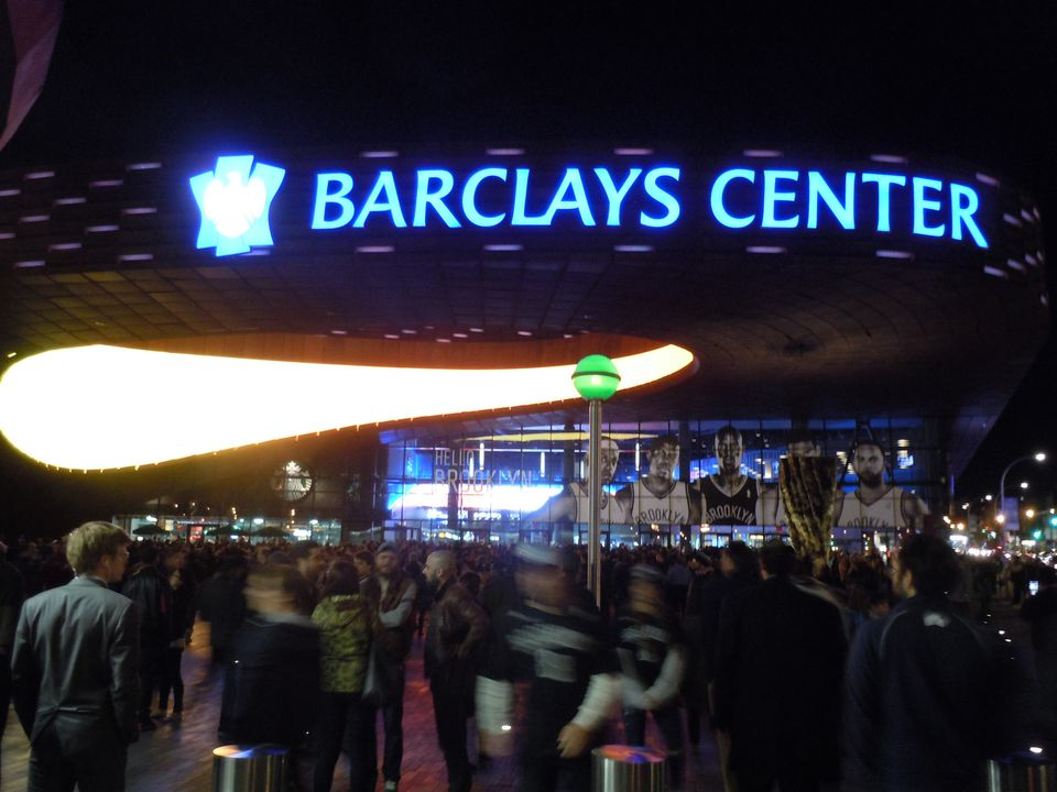 Barclays Center Nets Night