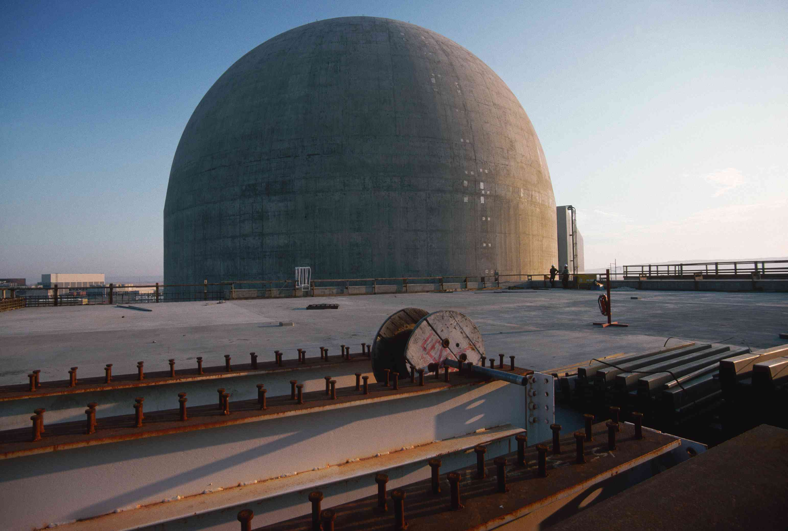 Abandoned Hanford Nuclear Plant