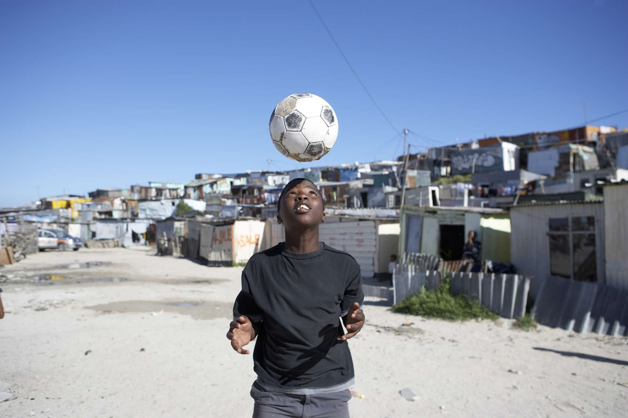 Township in outskirts of Cape Town