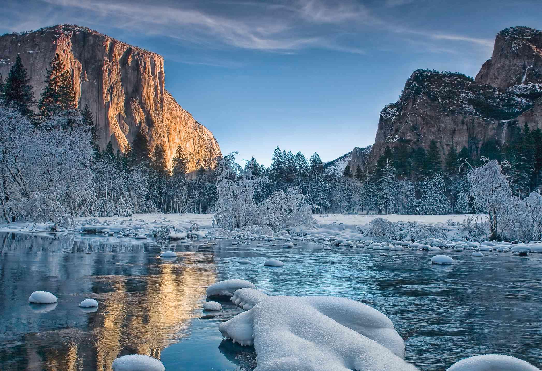 Yosemite winter at the gates