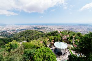 Mount Tibidabo in Barcelona