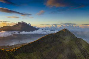 Mount Batur at sunrise, Bali, Indonesia