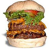 hamburguesas vancouver: hamburguesa vera choza