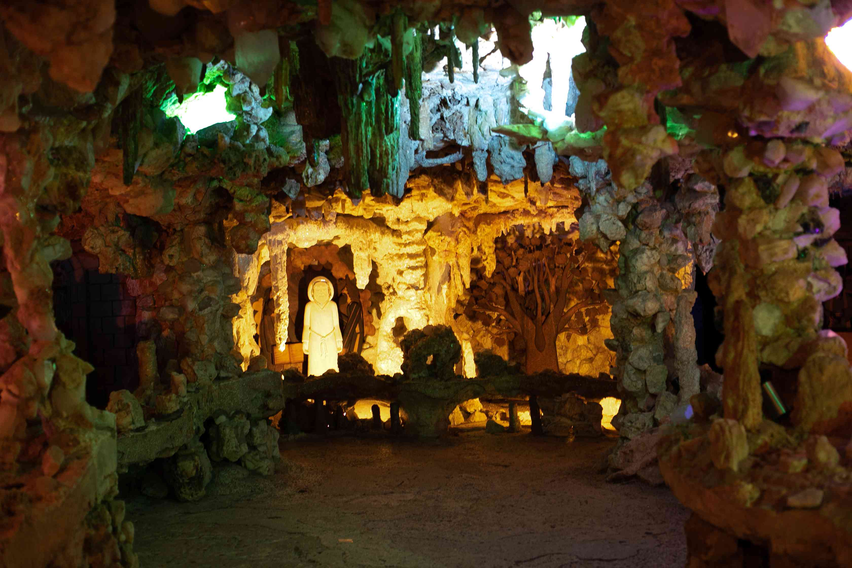 Crystal Shrine Grotto in Memphis, Tennessee