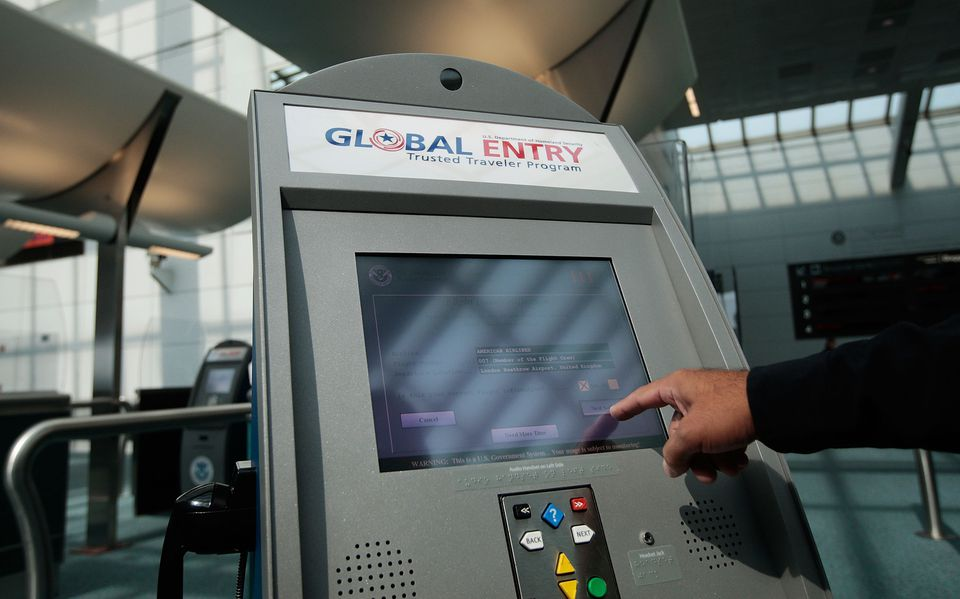 U.S. Customs Allows Pre-Approved Travelers To Bypass Passport Lines