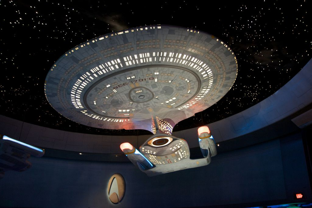 Star Trek- The Experience Las Vegas model ship