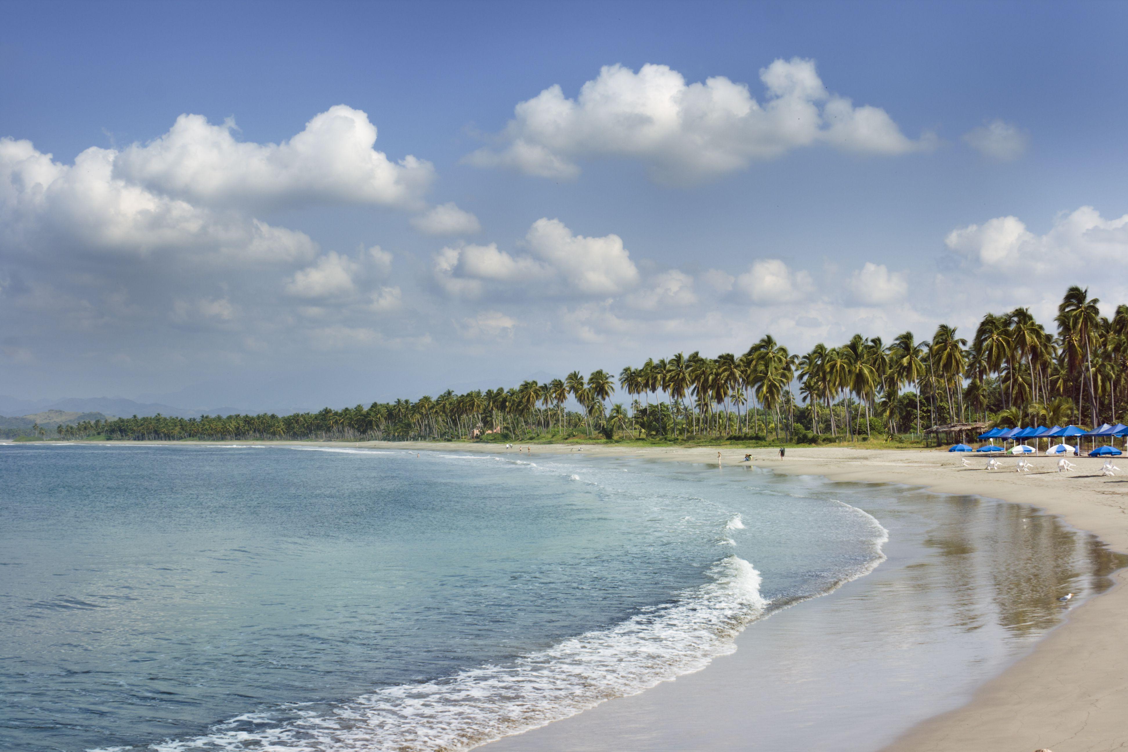 Beach at Ixtapa, Mexico