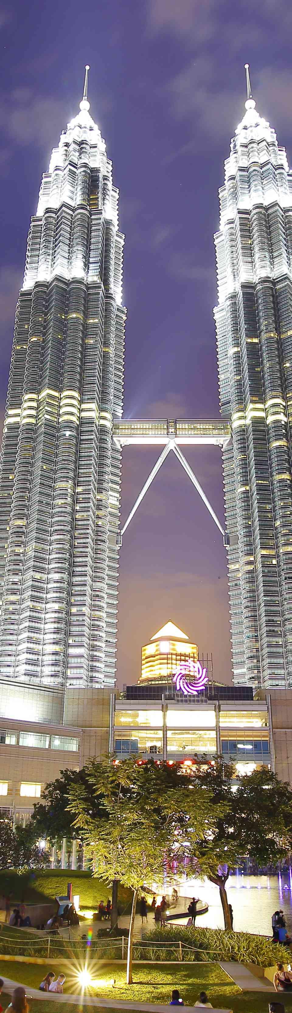 KLCC buildings in Kuala Lumpur, Malaysia