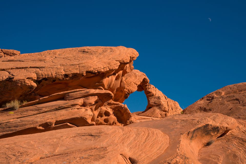 Arch Rock in Valley of Fire State Park