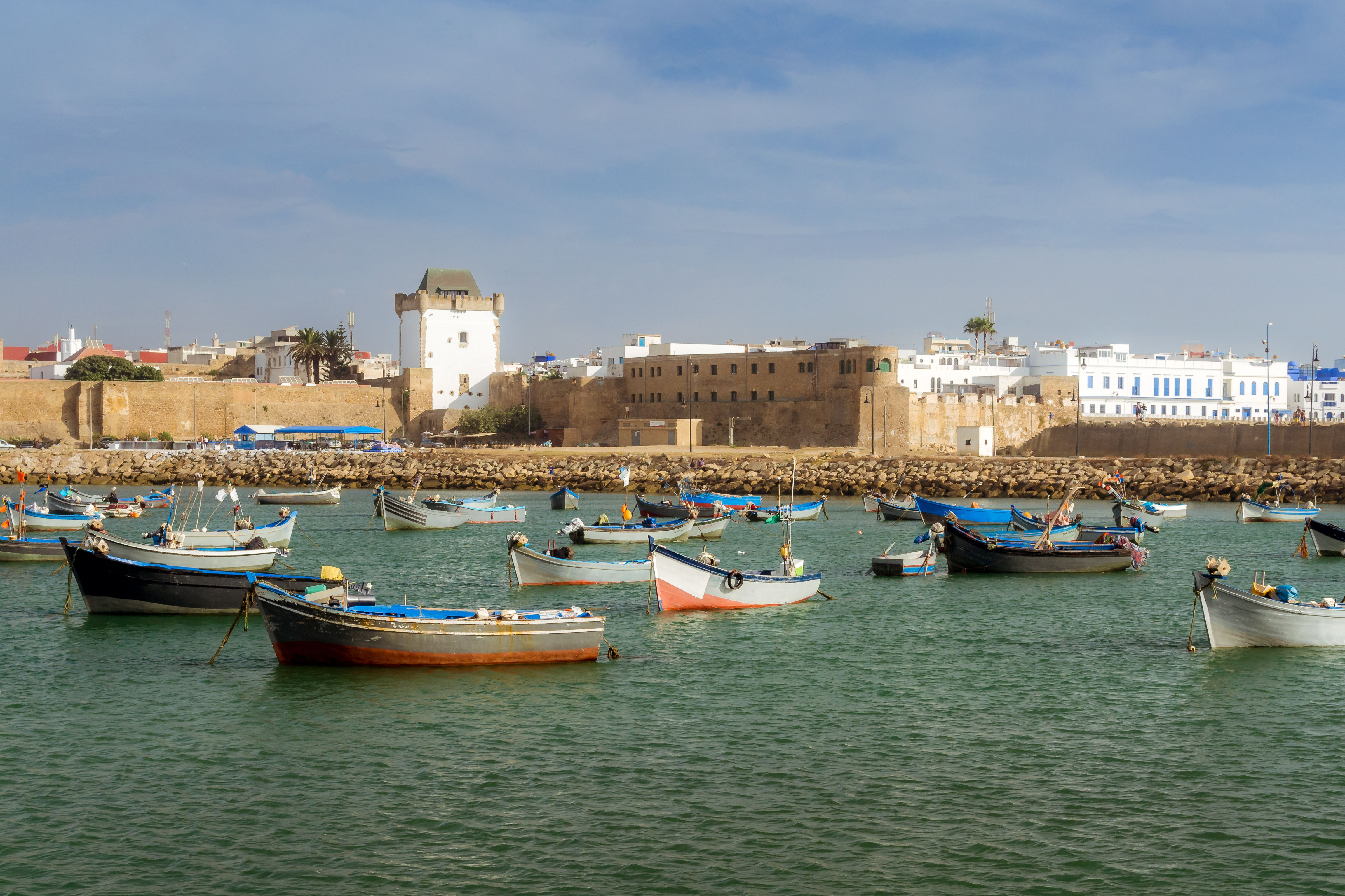 Port of Asilah, Morocco