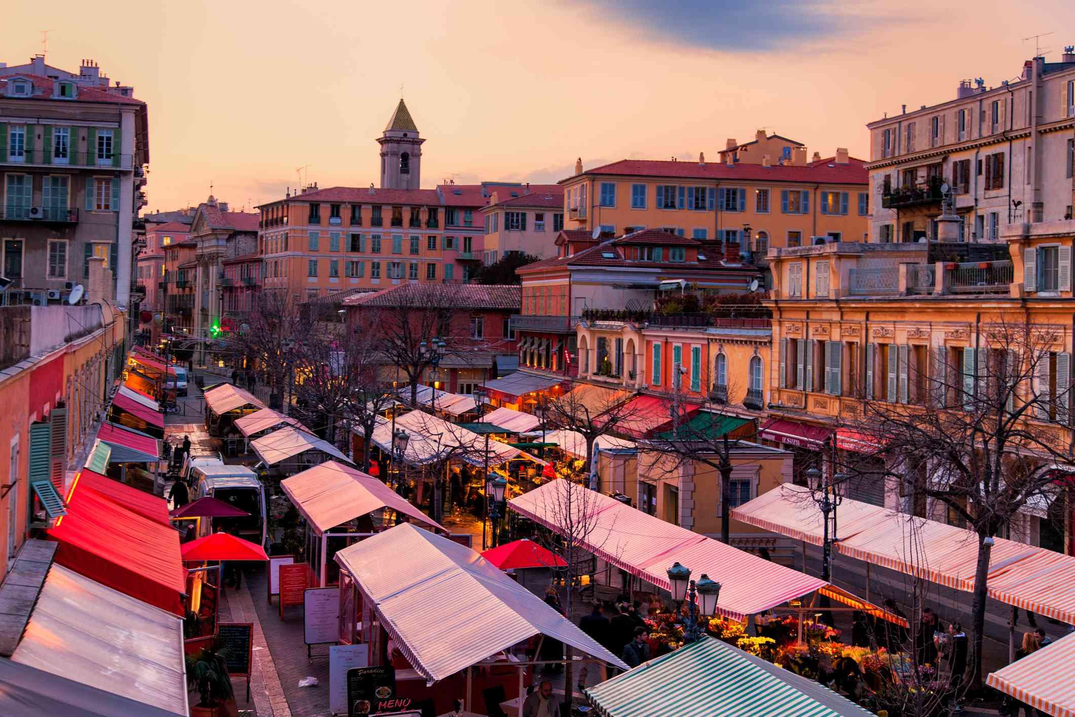 Cours Saleya Market, Nice, France