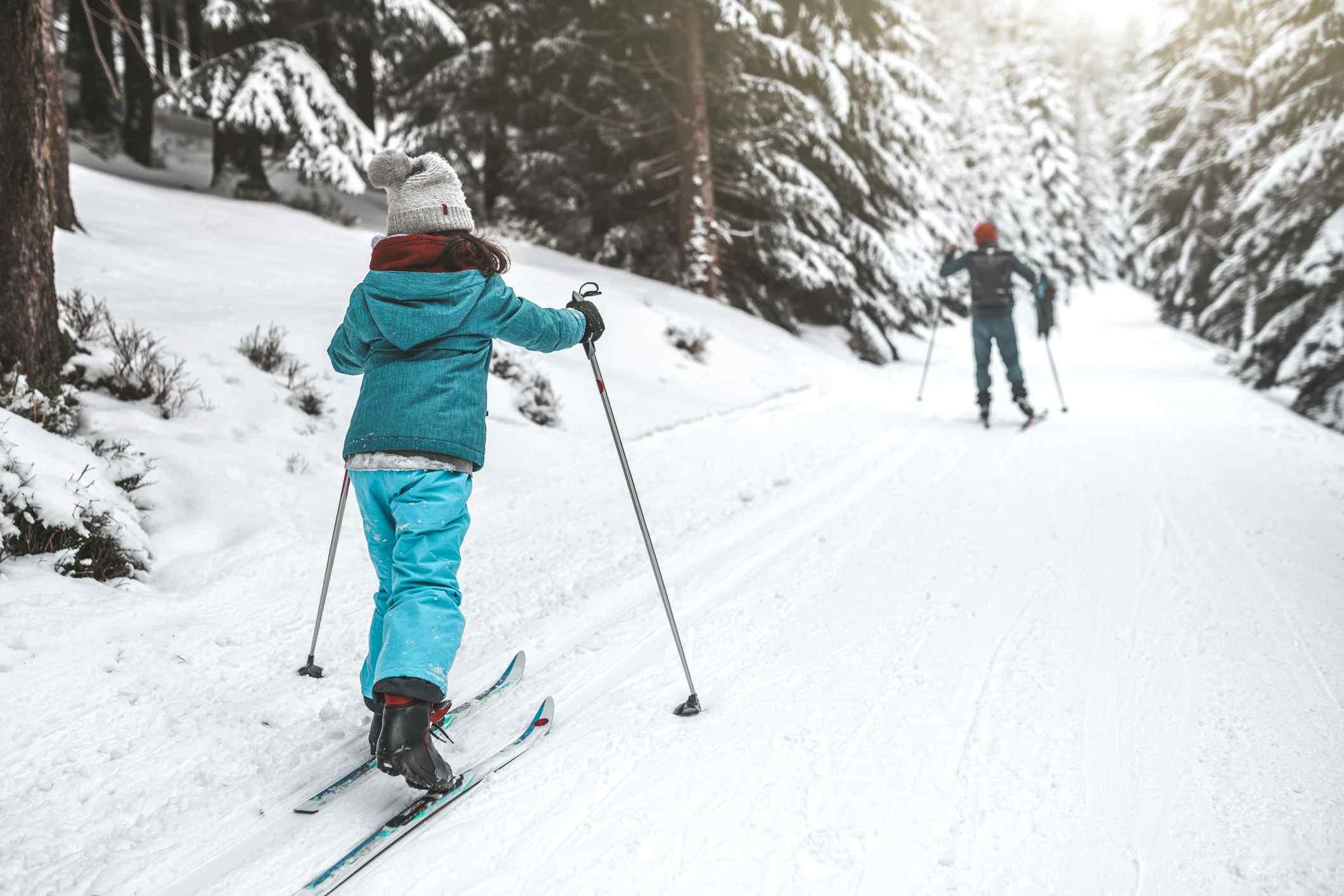 Cross country skiing Washington