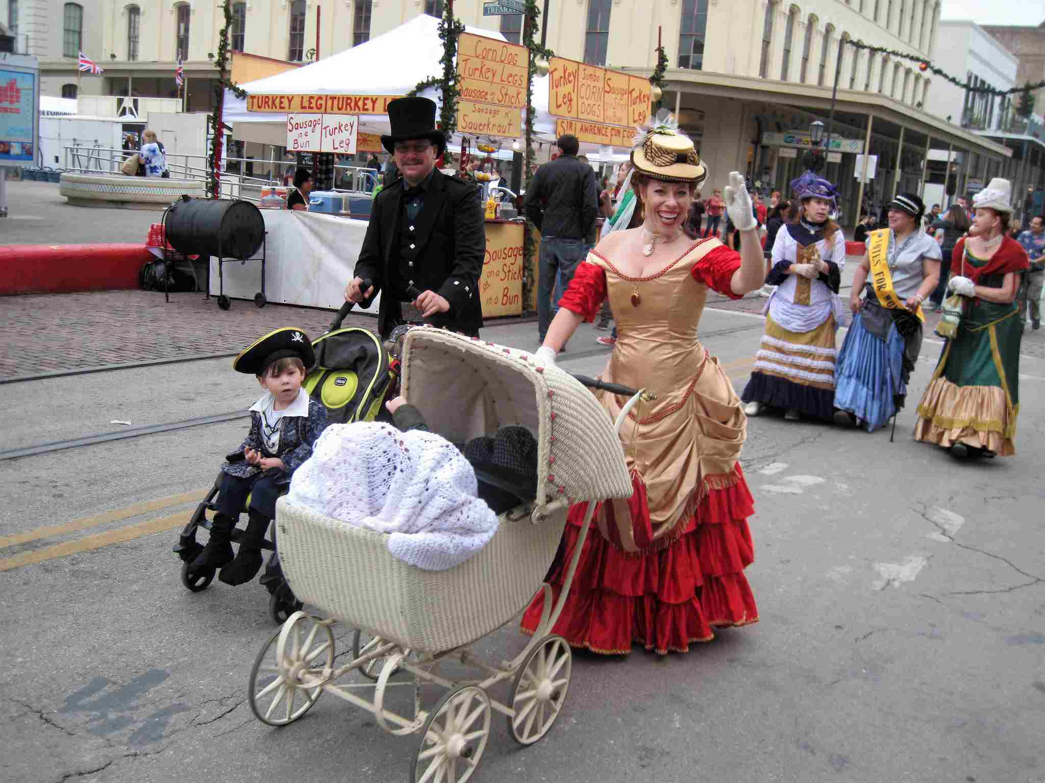 Dickens on the Strand 2017