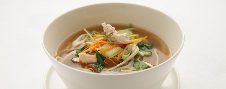 Noodle soup bowl