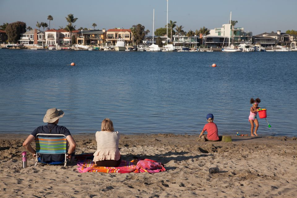 Peninsula Bayside Bays Beach Long Ca
