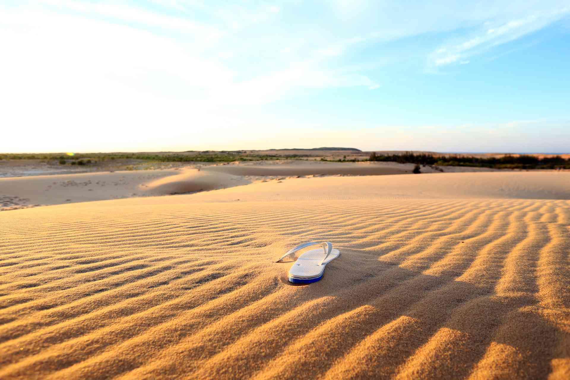 Dunes near Mui Ne Beach, Vietnam